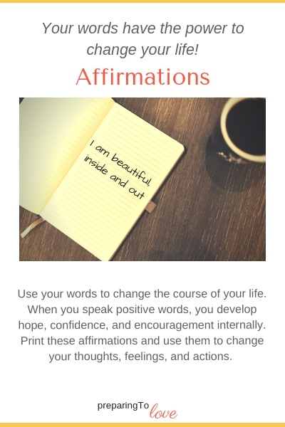 Using Affirmations to change your life.